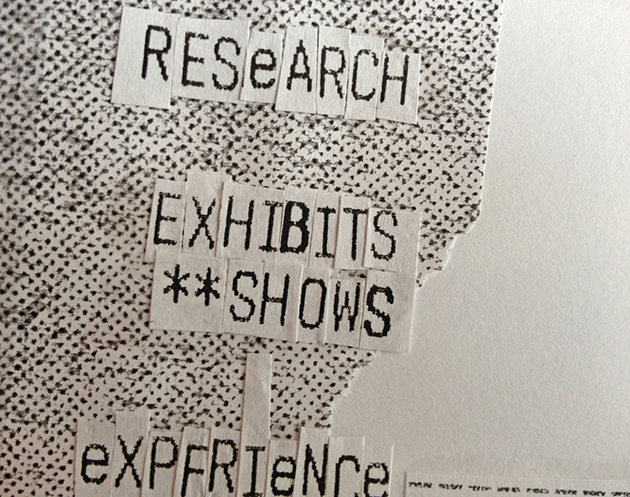 Design Research Exhibits